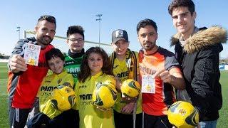 El Villarreal CF colabora con Pintando el Camino en Rosa