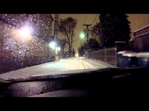 Snow Drive - Chicago Winter Storm 2014