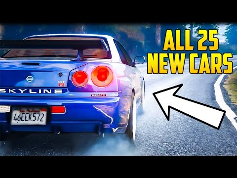 GTA Online: Import/Export DLC - ALL 25 NEW VEHICLES NAMES & CLASSES