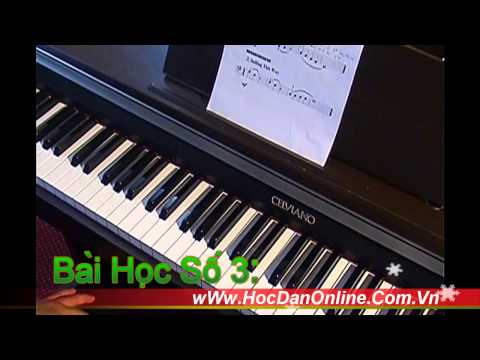 Hoc Dan Online Piano Level 1_Bài 3