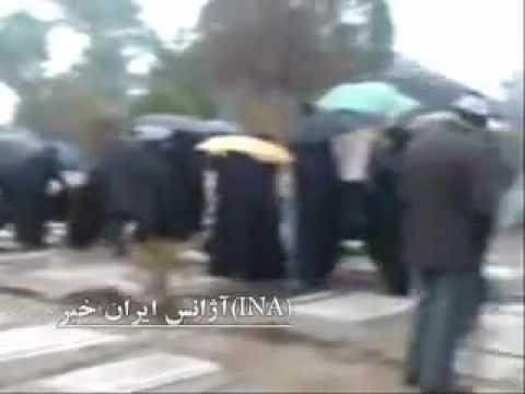 Iran 4 Feb 2010 Behesht Zahra Ali mousavi day 40 ceremony