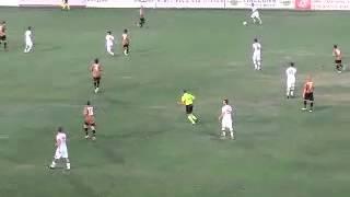 Azione prolungata Roma e tiro finale Totti