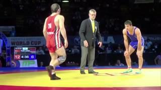 70 KG Davit Apoyan Armenia vs Mustafa Kaya Turkey