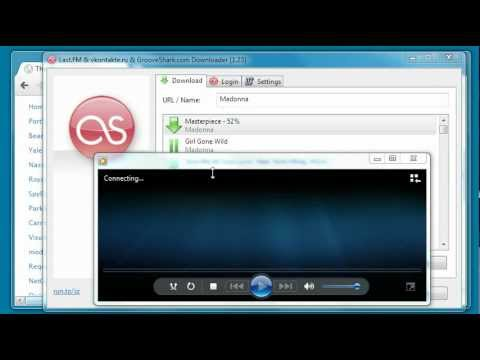 Last.FM & vkontakte.ru & GrooveShark.com: How to download MP3 music for free