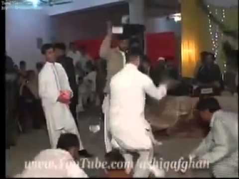 Pashto Funny Dance  In  Wedding Ceremony  21022010  Singer Khalid...
