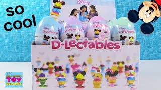 D'Lectables Disney Surprise Egg Figures Collection 1 & 2 Toy Review Opening | PSToyReviews