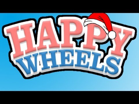 Happy Wheels - Ep. 2 SEXY SANTA Whiteboy7thst Gameplay Video