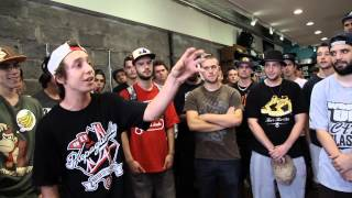 Wu Auditions2  MC Tabarnak vs Oli D
