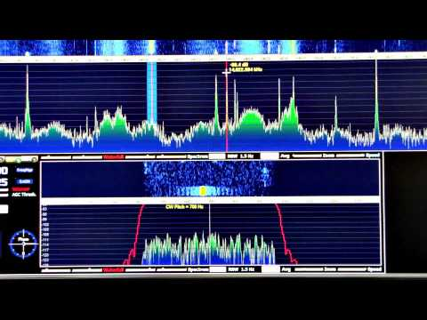 Elecraft KX3 HD SDR at Scandinavian Activity Contest 2012
