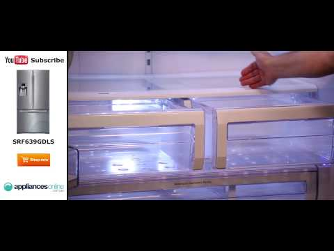 639L Samsung 3 Door Fridge SRF639GDLS Reviewed By Product Expert - Appliances Online