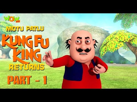 Motu Patlu Kungfu King Returns -Part 1| Movie| Movie Mania - 1 Movie Everyday | Wowkidz thumbnail