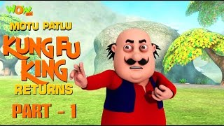 Motu Patlu Kungfu King Returns -Part 1| Movie| Movie Mania - 1 Movie Everyday | Wowkidz