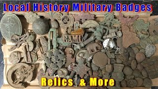 Show & tell of finding military badges from the blitz of clydebank