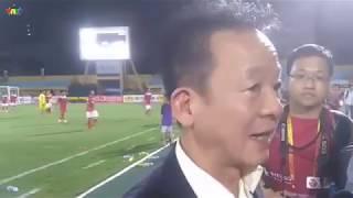 Vì tương lai bóng đá vì mục tiêu bóng đá Việt Nam Bầu hiển thưởng gần 1 tỷ và động viên tinh thần