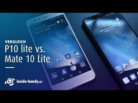 Vergleich: Huawei P10 lite vs. Huawei Mate 10 Lite