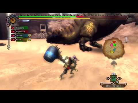 【Wii】 MH3 US ver. - Online Event Quest: Blood Sport {7/3/10} [1/2]