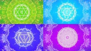HIGHER CHAKRAS HEALING MUSIC | Open Third Eye Intuition | Activate Pineal Gland | Sixth Sense Awaken