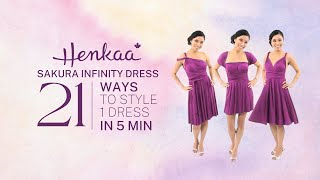 21 Ways to Wear the Sakura Convertible Dress