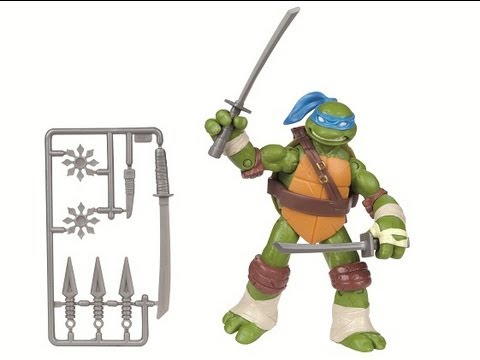 Nickelodeon's Teenage Mutant Ninja Turtles Leonardo Basic Action Figure Interactive Review