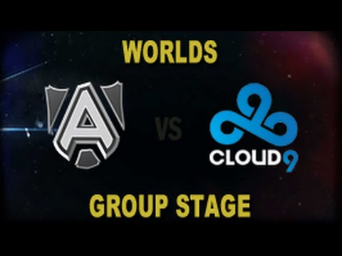 ALL vs C9 - 2014 World Championship Groups C and D D3G2