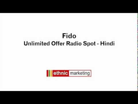 VOICE OVER - Provided for Fido Unlimited Offer - Radio Spot Hindi