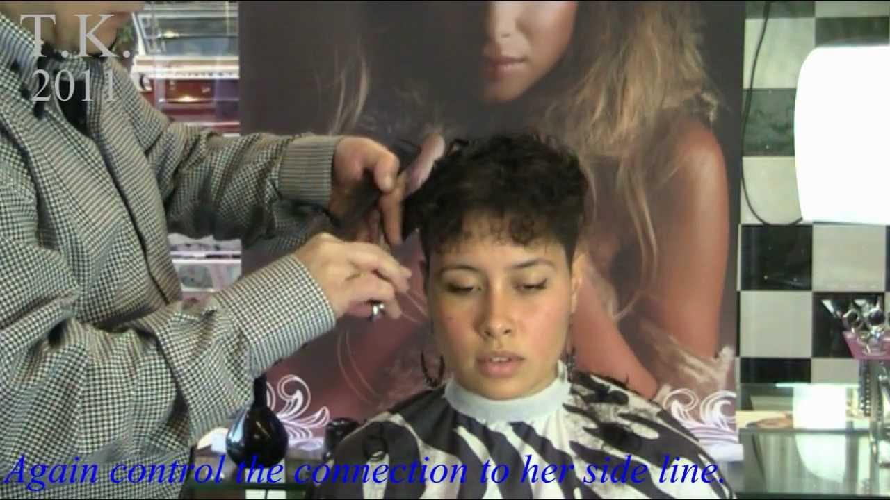 Curly Black Hair Girl Is Beautyful Leilas Short Haircut