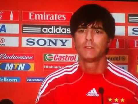 Joachim Löw Interview, WM 2010, World Cup 2010