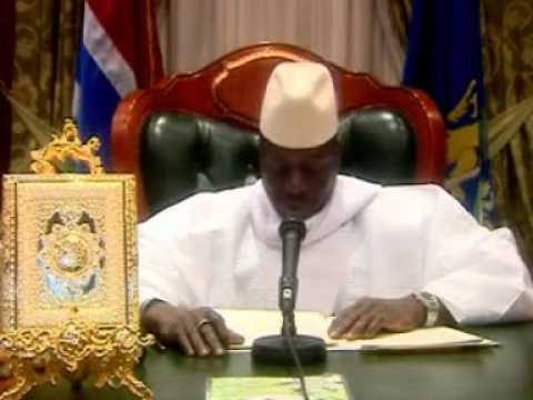 Yahya Jammeh capital punishment address.
