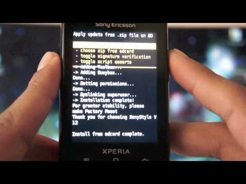 Instalar Android 2.3.7 Gingerbread en Xperia X10 Mini Pro [100% Funcional]