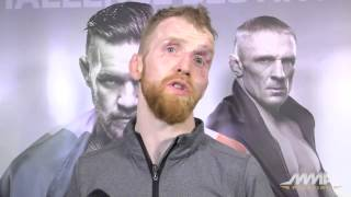 Paddy Holohan Says the Irish MMA Invasion 'Goes on Forever'