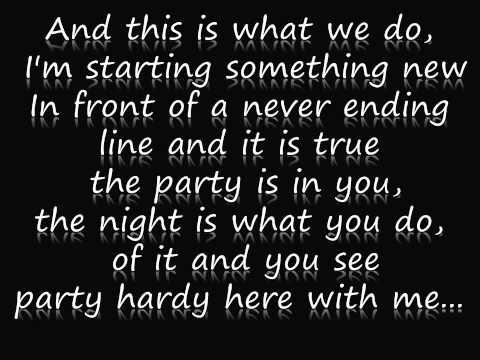 Imagem da capa da música The party is in you de Byz