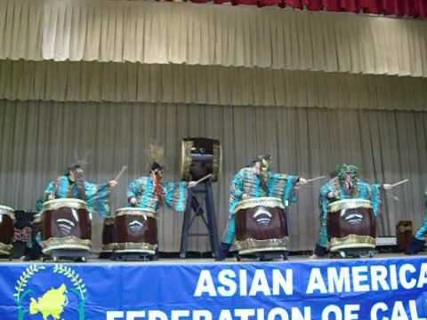 The 17th Asian American Heritage Festival 第17屆亞洲節- Wadaiko Newark - 3