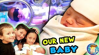 Baby's First Days!! Stuck at the Hospital w No Name Picked Out! FUNnel Vision Baby Boy Vlog
