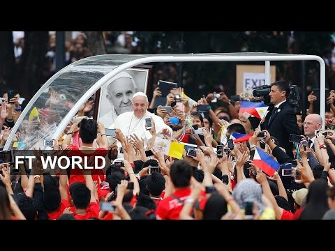 Millions flock to see pope in Philippines