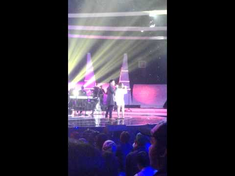 Ahmad Januario Valent with Melly Goeslaw