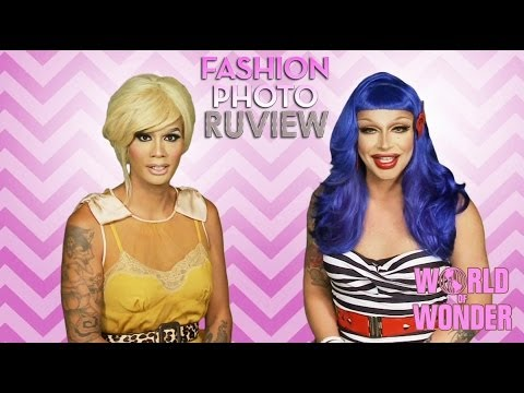 RuPaul's Drag Race Fashion Photo RuView with Raja & Raven - Social Media Episode 9
