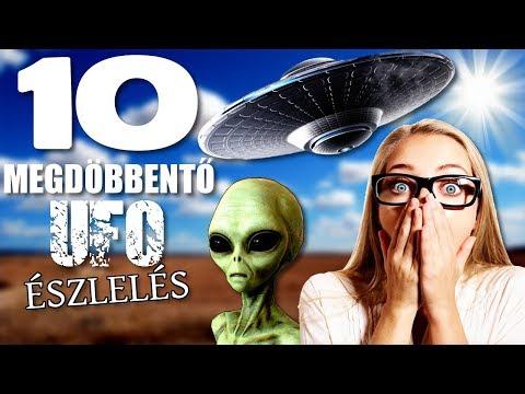 10 Megdöbbentő UFO Észlelés [TOPLISTÁK]