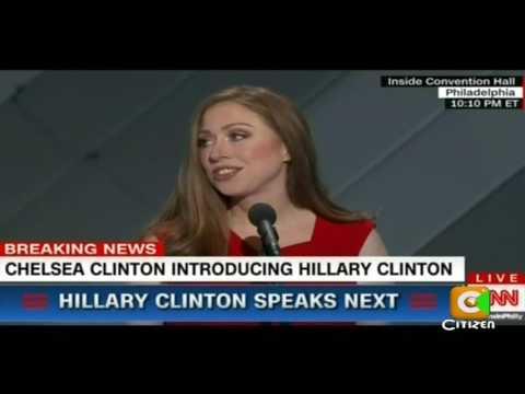 Chelsea Clinton's Speech at Democratic Convention 2016