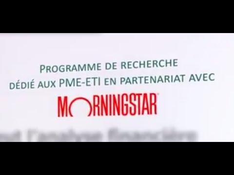 Euronext promeut l'analyse financière sur les PME & ETI en partenariat avec Morningstar.