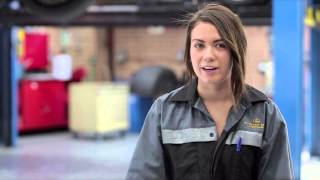 Belle Meyer: Certificate III in Automotive Mechanical Technology (Light Vehicle) apprenticeship