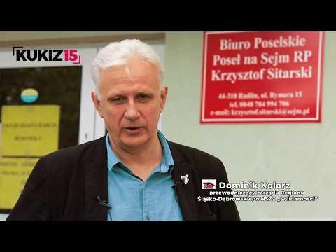 """Dominik Kolorz NSZZ """"Solidarność"""" popiera Krzysztofa Sitarskiego w wyborach do PE"""