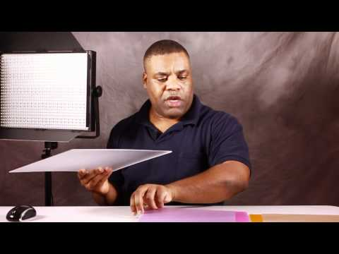 Ephoto 1200 Led Panel (CN-1200H) Review and Demonstration
