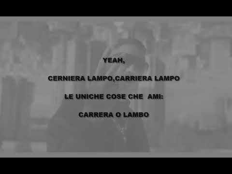 Rkomi ft.Marracash - Milano Bachata (Lyrics video with audio)