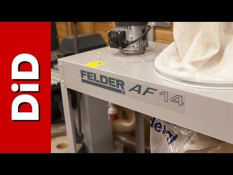 116. Mobilne urządzenie odciągowe Felder AF14