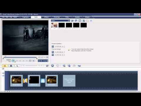 สอนการตัดต่อวีดีโอแบบง่ายๆด้วยโปรแกรมUlead VideoStudio 11