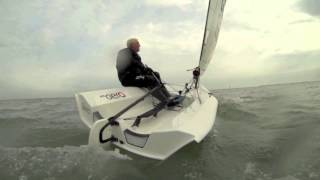 Test sailing the RS Aero -