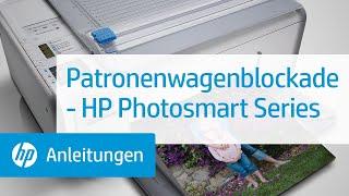 Patronenwagenblockade - HP Photosmart Series
