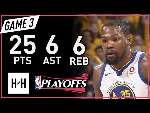 Kevin Durant Full Game 3 Highlights vs Rockets 2018 NBA Playoffs WCF - 25 Pts, 6 Ast, 6 Reb!