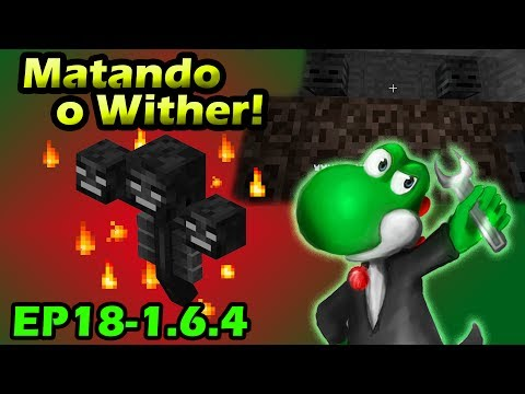 Eliminando o Wither Minecraft com Mods 1.6.4 EP18