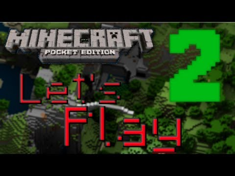 Let's Play Minecraft PE Part 2 Mining Is Not My Thing!